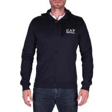 Emporio Armani Sweatshirt férfi kapucnis cipzáras pulóver kék 3XL