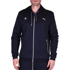 Puma Bmw Msp Hooded Sweat férfi kapucnis cipzáras pulóver sötétkék XL