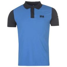 Helly Hansen Coordinate férfi galléros pamut póló kék XL