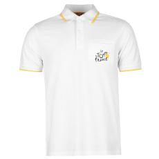TDF Tour férfi galléros póló fehér M