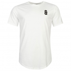 Only and Sons Drake Curved férfi póló fehér L