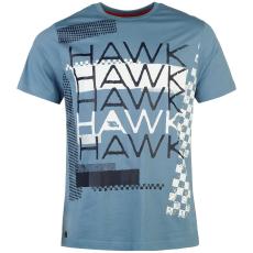 Tony Hawk Graphic férfi póló kék XL
