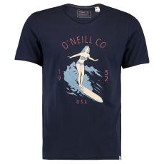 Oneill Akela Sn73 férfi póló tengerészkék L