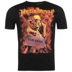 Official Megadeth Band férfi póló fekete S