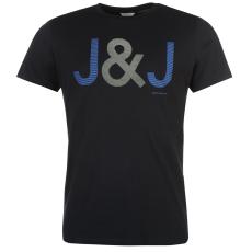 Jack and Jones Core Malaga férfi póló tengerészkék XL