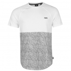 Fabric Splttr Rgln T Sn73 férfi póló fehér L