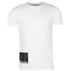 Kangol Slogan Square férfi póló fehér S
