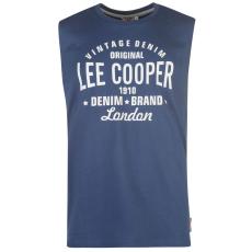 Lee Cooper Logo Tank férfi trikó kék XL