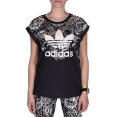 Adidas Florido Tee női póló fekete S