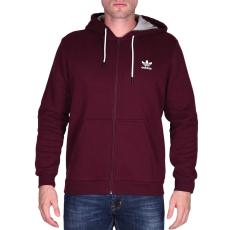 Adidas Es Fz Hoody férfi kapucnis cipzáras pulóver bordó L
