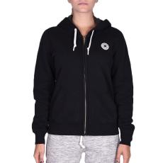 Converse Core Full Zip Hoodie női cipzáras pulóver fekete L