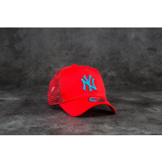 New Era 9Forty League Essential New York Yankees Trucker Red/ Blue