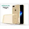 Nillkin Apple iPhone 7 Plus szilikon hátlap - Nillkin Nature - aranybarna