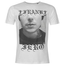 Official Frank Iero férfi póló fehér S