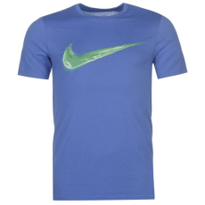 Nike Streak Swoosh QTT férfi póló kék XXL