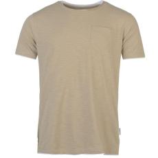 Pierre Cardin Férfi póló világosbarna 3XL