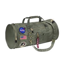 Alpha Industries FLIGHT DUFFEL BAG NASA - sage green