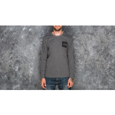 The North Face Fine Longsleeve Tee Dark Heather Grey