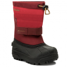 Columbia Hótaposó COLUMBIA - Childrens Powderbug Plus II BC1326 Mountain Red/Maple 613