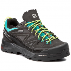 Salomon Bakancs SALOMON - X Alp Ltr Gtx W GORE-TEX 393271 20 V0 Deep Peacock Blue/Phntom/Lime Punch.