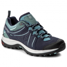 Salomon Bakancs SALOMON - Ellipse 2 Ltr W 398540 Artic/Navy Blazer/Eggshell Blue