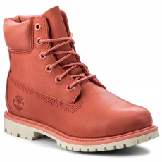 TIMBERLAND Bakancs TIMBERLAND - 6In Premium Boot W A1AQK Spiced Coral