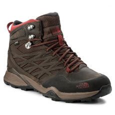 The North Face Bakancs THE NORTH FACE - Hedgehog Hike Mid Gtx GORE-TEX T0CDF5NHS Demitasse Brown/Rudy Red
