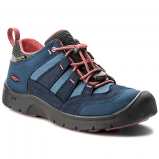 Keen Félcipő KEEN - Hikeport Wp 1017578 Dress Blues/Sugar Coral
