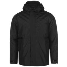 No Fear Classic férfi kapucnis cipzáras kabát fekete M