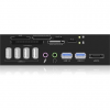RaidSonic IcyBox Card Reader with multiport panel; USB 3.0; 1x eSATA interface
