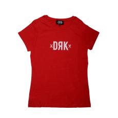 Dorko Drk Logo T-shirt Women Red női póló piros L