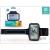 """Devia ST999124 iSport univerzális 4.7"""" fekete telefontartó karpánt sport karpánt"""