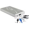 DELOCK 2.5 Külső merevlemezház SATA HDD > Multiport SuperSpeed USB 10 Gbps (USB 3.1 Gen 2)