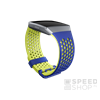Fitbit Ionic Sport szíj, Large, Cobalt / Lime