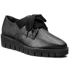 Tamaris Oxford cipők TAMARIS - 1-23727-39 Black 001