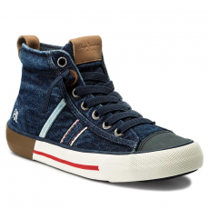 Pepe Jeans Bokacipő PEPE JEANS - Serthi Boot Denim PBS30330 Denim 000
