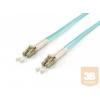 Equip optikai patch kábel LC-LC duplex mm 50/125 OM3 LSOH, 10m
