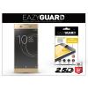 Eazyguard Sony Xperia XA1 Ultra (G3221/G3223) gyémántüveg képernyővédő fólia - Diamond Glass 2.5D Fullcover - gold