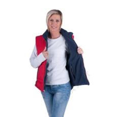 Cerva ROSEVILLE női mellény piros/navy