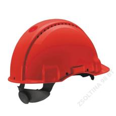 Cerva 3M PELTOR G3000NUV sisak, piros