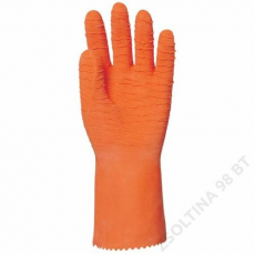 Euro Protection Mártott narancs krepp latex, érdes, vegyszerálló, 32 cm -8