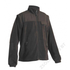 Cerva RANDWIK polár kabát, fekete
