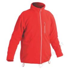 Cerva KARELA polár kabát, piros
