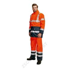 Cerva BIROAD kabát HV sárga/sötétkék
