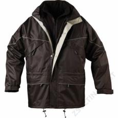 Coverguard ISA 3/1 kabát, fekete -M