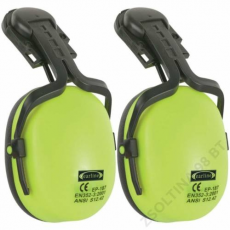 Earline® FÜLTOK+ADAPTER sisakra, hi-viz sárga