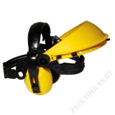 Earline® Felhajtható, fültokkal kombinálható homlokpánt