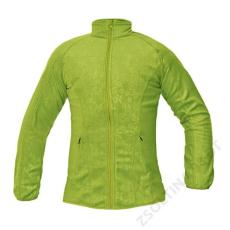 Cerva YOWIE női polár kabát, zöld