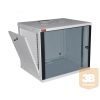 """Lande LN-EUBOX12U5460-LG-1 EURObox 12U 540x600 fali rack szekrény 19"""" RAL7035 szürke"""