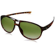 Tag Heuer 27 Degree 6043 310 Polarized Oval Sunglasses, Shiny Tortoise